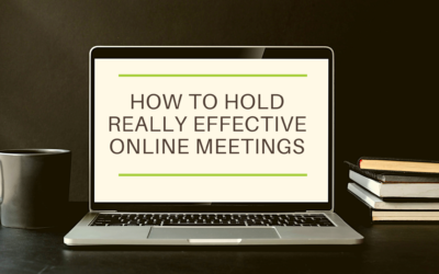 How to Hold Really Effective Online Meetings